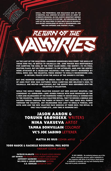 King In Black: Return Of The Valkyries (2021-) Chapter 4 ...