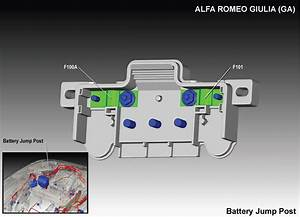Alfa Romeo Giulia  2016 - 2018  - Fuse Box Diagram