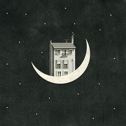 Night Gifs Animation Nancy Breath Liang Mir