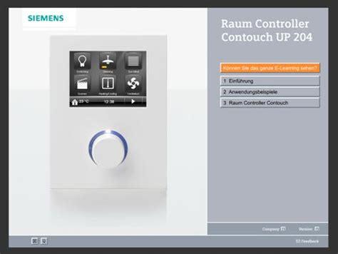 contouch up 204 gamma td knx produktdatenbank building technologies siemens