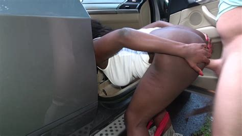 Ebony Jai James Swallows Creamy Load After Fucking A White