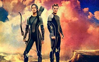 Hunger Peeta Katniss Games Fire Catching Wallpapers
