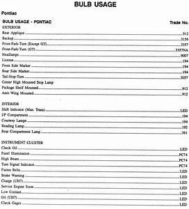 Bo 7181  Chevy Silverado Light Bulb Chart Wiring Diagram