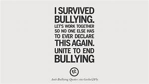 Stop Bullying Quotes | QUOTES OF THE DAY
