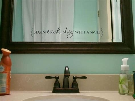 Mirror Decals For Bathrooms by Pin By Keely Langdon On Uppercase Living Ideas Home