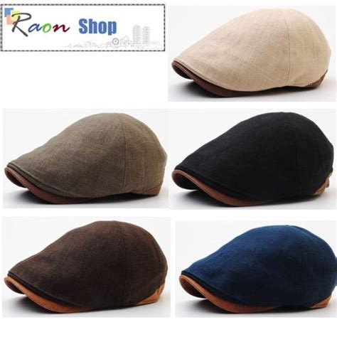 detalles acerca de new design style hemp newsboy cap gatsby flat golf hat faux