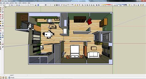 sketchup cuisine la plannification de rénovation en 3d avec sketchup home renovation 3d visualisation