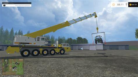 crane lifting frame   fs farming simulator