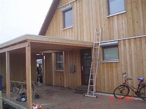 Carport Aus Holz : carport am haus anbauen zs55 hitoiro ~ Whattoseeinmadrid.com Haus und Dekorationen