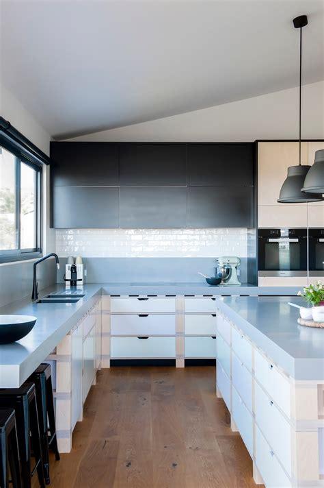 minosa a unique kitchen design solution based a palette