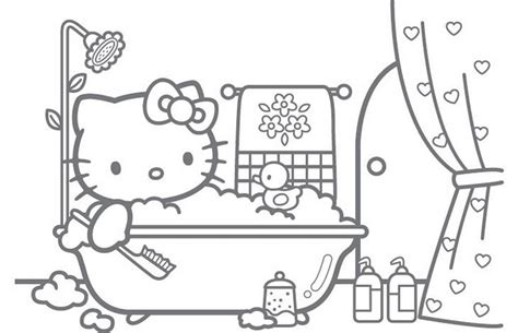 Bath Time Coloring Pages Bath Time Coloring Pages Coloring Pages