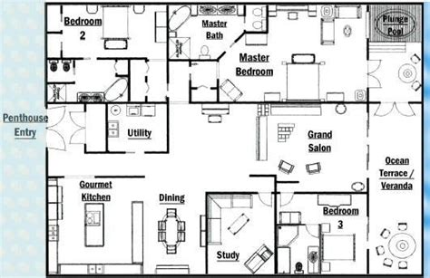 luxury kitchen floor plans unique master bedrooms luxury penthouse floor plans new