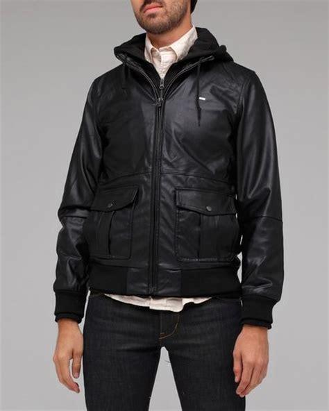 foto de Obey Rapture Bomber Jacket in Black for Men Lyst