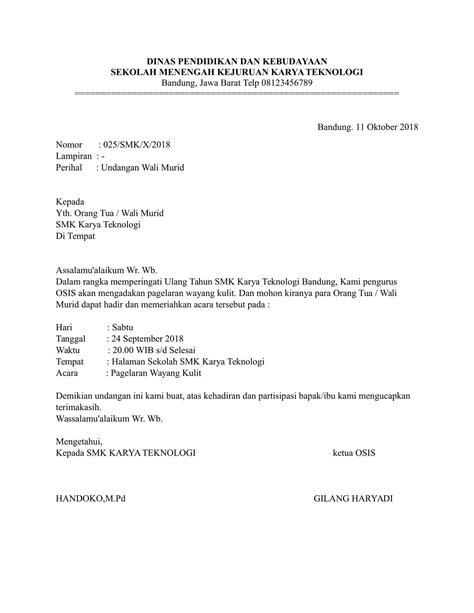 Contoh Surat Permohonan Jadi Narasumber Suratmenyuratnet