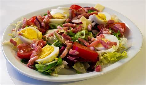 cuisine chinoise salade aux lardons gruyère et oeufs les expériences