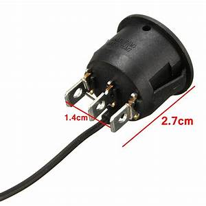 3 Pin Seat Heater Switches Universal Round Heated Seat