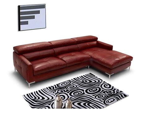 contemporary italian leather sectional sofas dreamfurniture com 940 modern italian leather