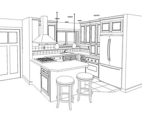 arts and crafts kitchen cabinets kitchen drawing marceladick com