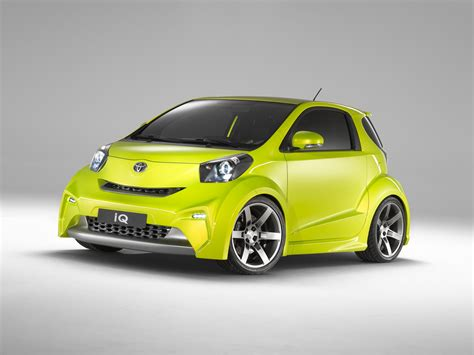 toyota iq  sports  iq collection review top speed