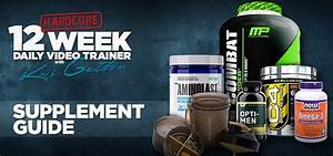 Kris Gethin 12-week Daily Trainer Supplement Guide