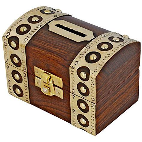 tirelire design coffre fort boite en bois pour 233 conomiser l argent ouverture fermeture