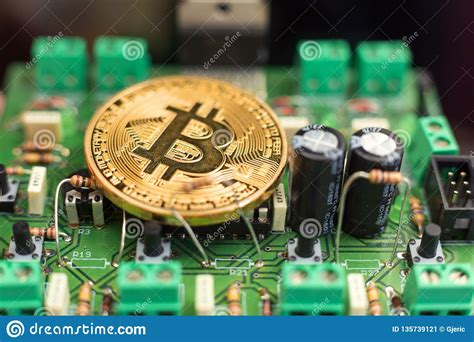 Tor control port to use if onion listening enabled (default: Bitcoin Coin On Circuit Board Stock Image - Image of ...