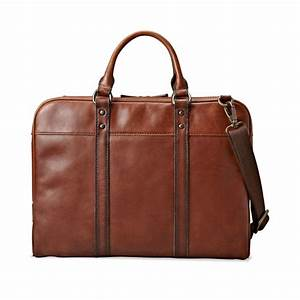 fossil estate document bag in brown for men dark brown With baggage documents