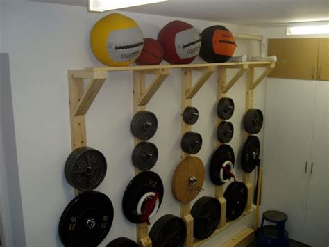 wall mounted weight rack diy plate tree rack crossfit discussion board home 47412
