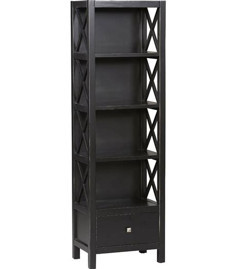 Bookcase Tower by 5 Shelf Tower Bookcase In Bookcases