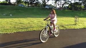 Aprendendo a andar de bicicleta segundo dia. - YouTube