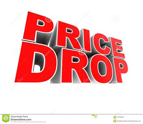 Price Of by Price Drop Stock Illustration Image Of Dramatic
