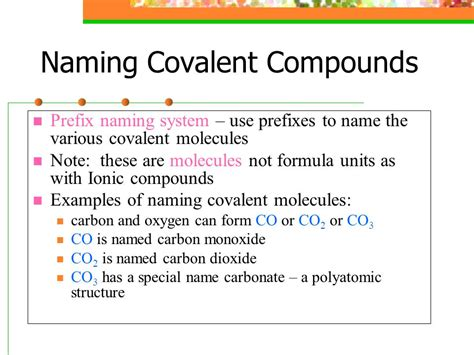 Naming Compounds Names And Formulas  Ppt Video Online