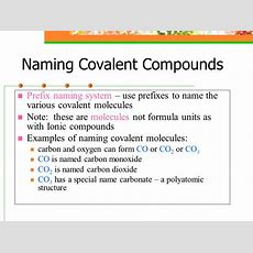 Naming Compounds Names And Formulas  Ppt Video Online Download