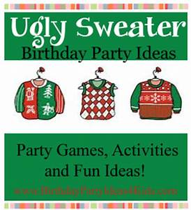 Ugly Sweater Christmas Party Favors Bronze Cardigan