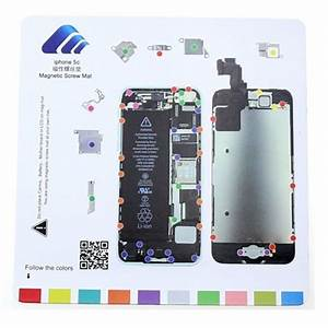 Iphone 5c Magnetic Screw Chart Mat Repair Professional