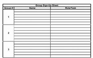 the admin bitch download group project sign up sheet With group sign in sheet template