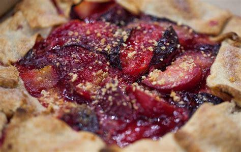 lidia bastianich s easy free form plum tart today