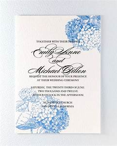 printable botanical wedding invitation blue hydrangea 3 With wedding invitations with blue hydrangeas