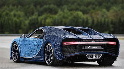 lego faz bugatti chiron em tamanho real jornal  carro