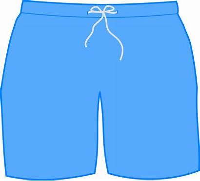 Swim Shorts Clip Clipart Short Cliparts Pants
