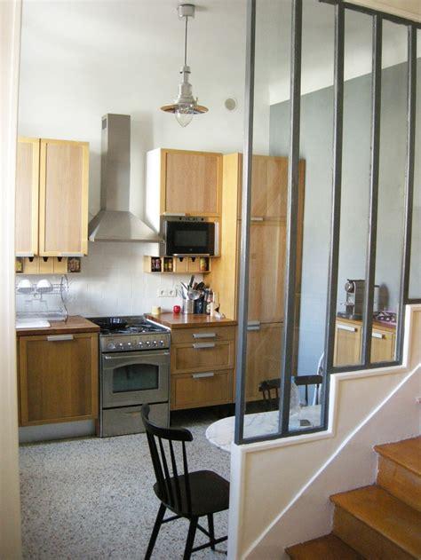 cuisine parisienne rénovation cuisine style industriel dans une maison en