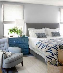 20 Beautiful Blue And Gray Bedrooms - DigsDigs
