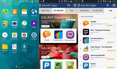 Samsung Mobile Apps Store by Samsung Pushing Out Update To Rename Samsung Apps To