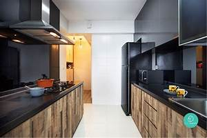 6 brilliant 4 room hdb ideas for your new home With 4 brilliant kitchen remodel ideas