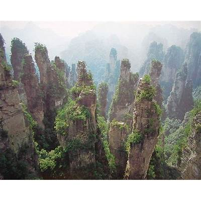 Zhangjiajie National Forest Park Scenic Area