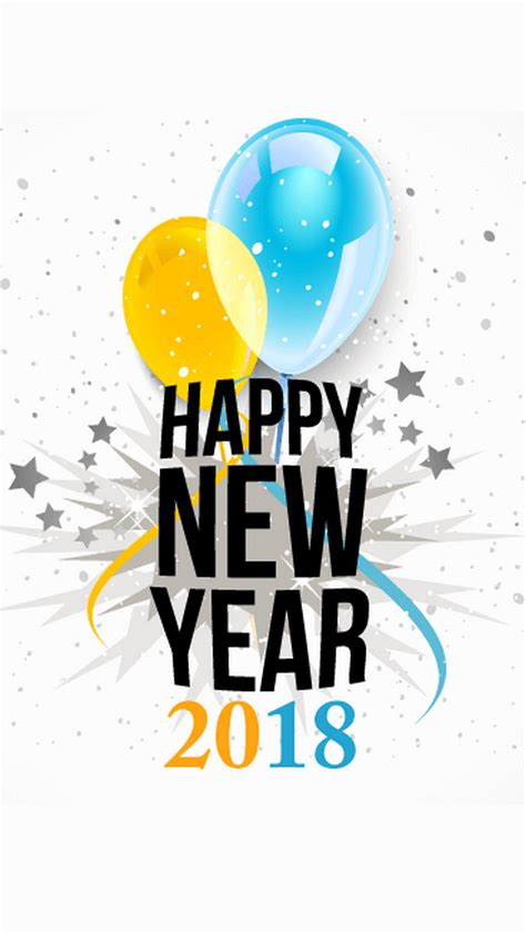 Happy New Year 2018 Iphone Wallpaper  2018 Iphone Wallpapers