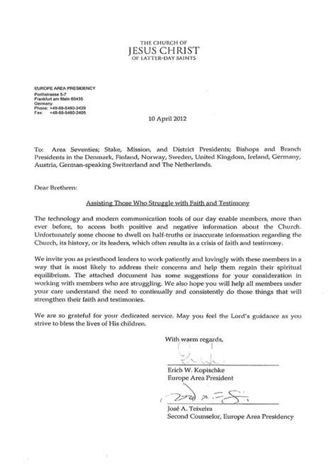 chris ralphs  open letter   europe area