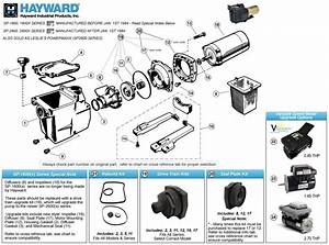 Hayward Super Pump Parts