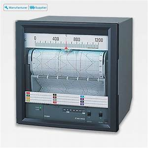 Abs Analog Chart Recorder Chino For Laboratory  Eh3000