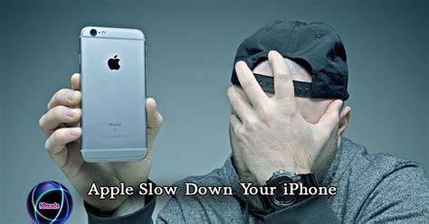 apple slow   iphone sbmade  data  technology